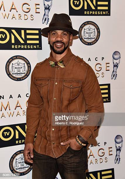 Actor Aaron D Spears attends the 47th NAACP Image Awards NonTelevised Awards Ceremony on February 4 2016 in Pasadena California