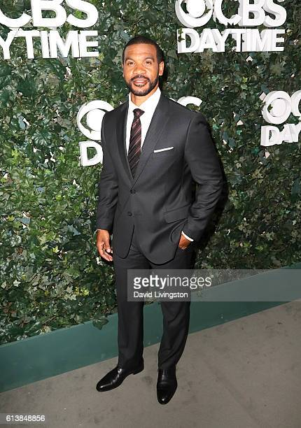 Actor Aaron D Spears attends the CBS Daytime for 30 Years at The Paley Center for Media on October 10 2016 in Beverly Hills California