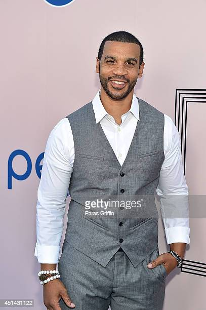 Actor Aaron D Spears attends the 'PRE' BET Awards Dinner at Milk Studios on June 28 2014 in Hollywood California