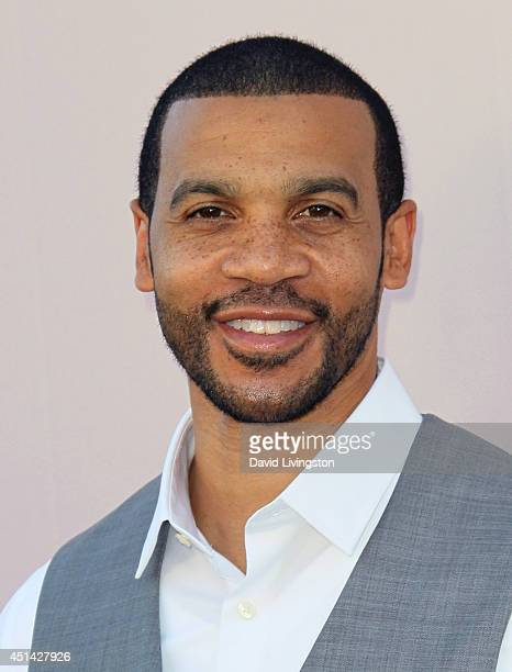 Actor Aaron D Spears attends the 'PRE' BET Awards Dinner hosted by BET Networks' Chairman and CEO Debra L Lee at Milk Studios on June 28 2014 in...