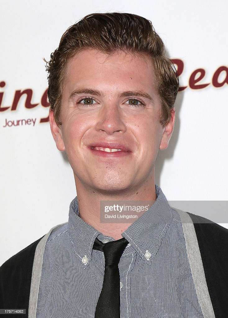 Actor Aaron David Johnson attends a screening of Integrity Film Production's 'Red Wing' at Harmony Gold Theatre on August 6, 2013 in Los Angeles, California.