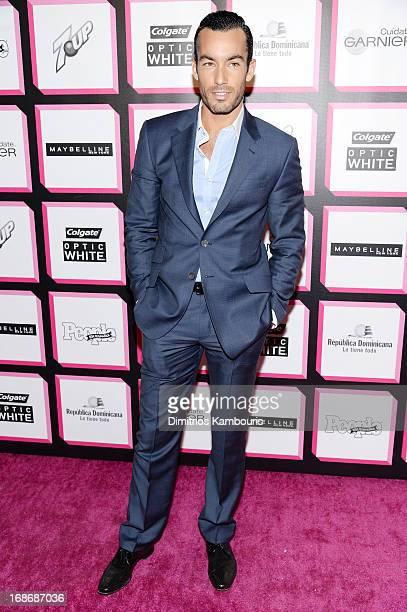 Actor Aaron Diaz attends People En Espanol's 50 Most Beautiful 2013 at Marquee on May 13 2013 in New York City