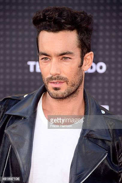 Actor Aaron Diaz attends Telemundo's Latin American Music Awards at the Dolby Theatre on October 8 2015 in Hollywood California