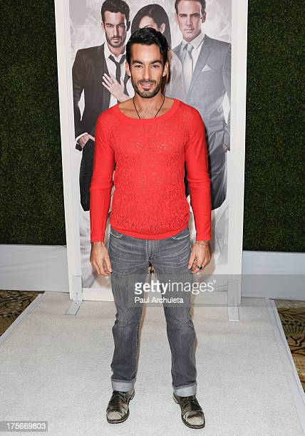 Actor Aaron Diaz attends the Telemundo press annoucement for 'Santa Diabla' at the Regent Beverly Wilshire Hotel on August 5 2013 in Beverly Hills...