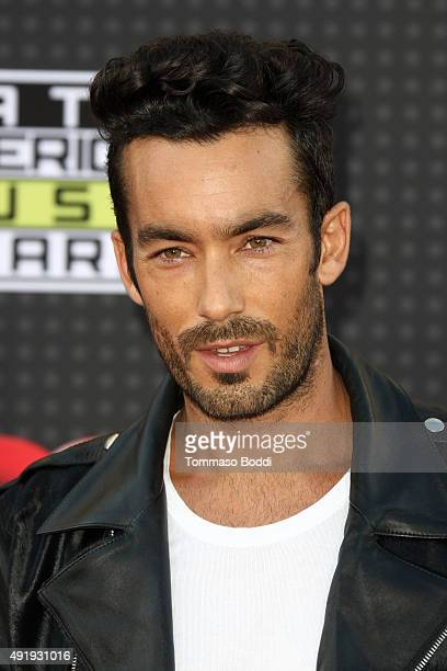 Actor Aaron Diaz attends the Telemundo's Latin American Music Awards 2015 held at Dolby Theatre on October 8 2015 in Hollywood California