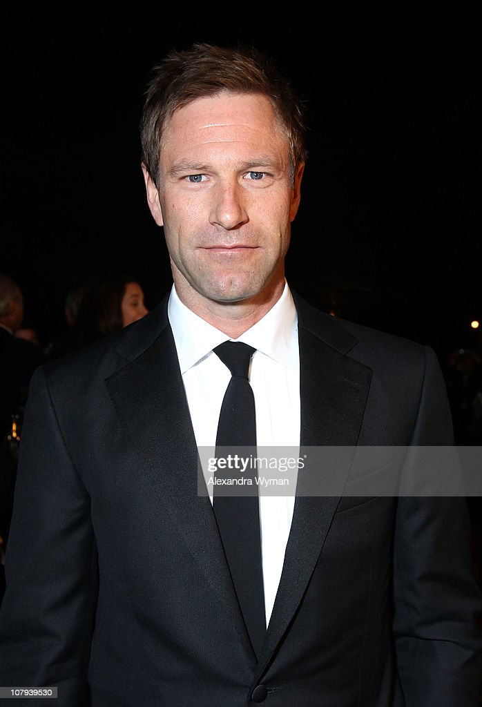 Actor <a gi-track='captionPersonalityLinkClicked' href=/galleries/search?phrase=Aaron+Eckhart&family=editorial&specificpeople=220602 ng-click='$event.stopPropagation()'>Aaron Eckhart</a> arrives at the 22nd Annual Palm Springs International Film Festival Awards Gala at the Palm Springs Convention Center on January 8, 2011 in Palm Springs, California.