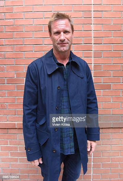 Actor Aaron Eckhart attends a screening of 'Bleed for This' during the Telluride Film Festival 2016 on September 2 2016 in Telluride Colorado