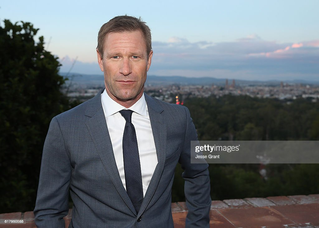 """Actor Aaron Eckhart Attends The Mexican Premiere Of His Film """"SULLY"""" During The 14th Annual Morelia International Film Festival"""