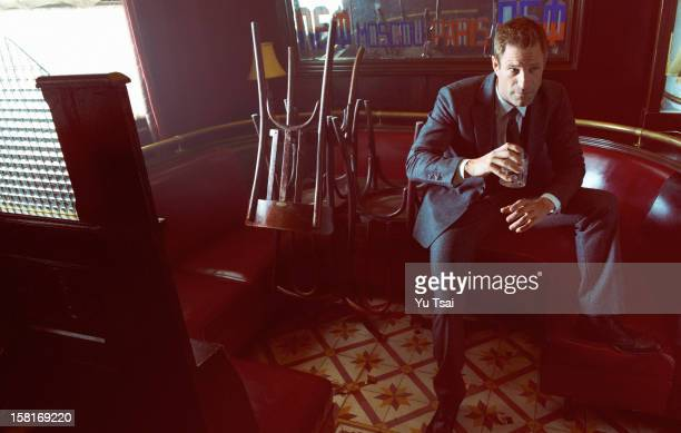 Actor Aaron Eckhart is photographed for In Style Russia on September 12 2012 in Los Angeles California PUBLISHED IMAGE ON DOMESTIC EMBARGO UNTIL...