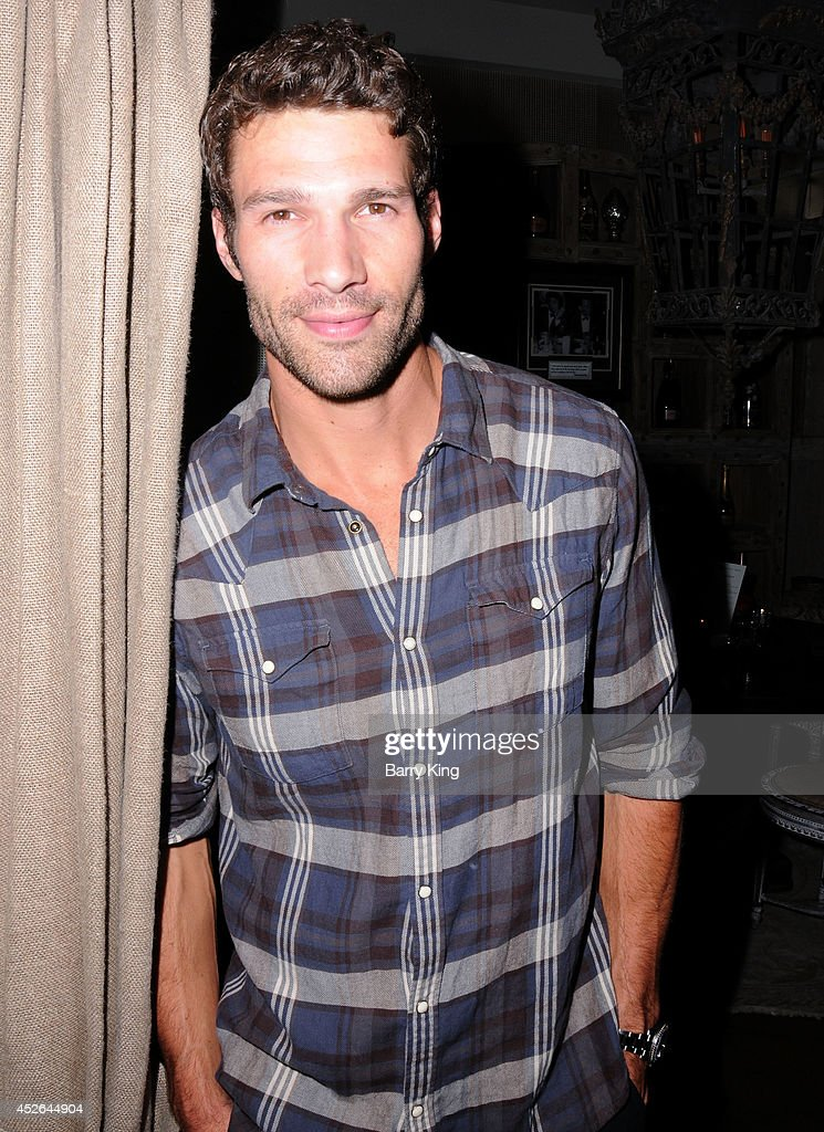Actor Aaron O'Connell attends the DT Model Management 2 Year Anniversary Celebration on July 24, 2014 at Pump in West Hollywood, California.