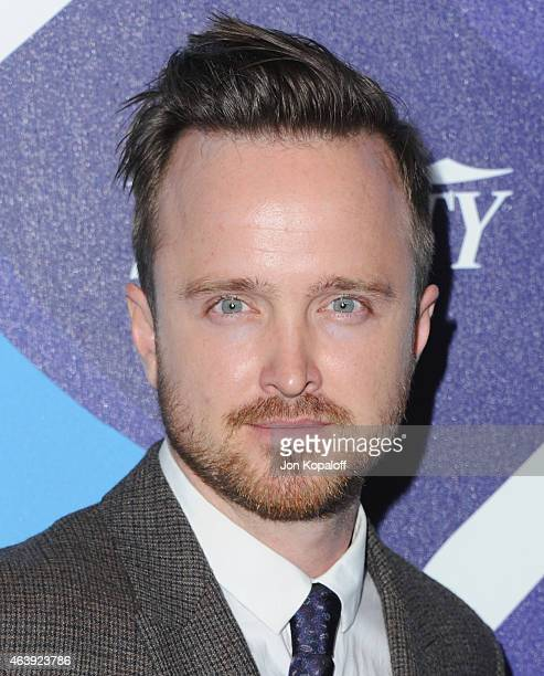 Actor Aaron Paul arrives at the 2nd Annual Unite4humanity Event at The Beverly Hilton Hotel on February 19 2015 in Beverly Hills California