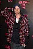 Actor Aaron Paul arrives at the Belvedere IX Launch Party on February 5 2009 in Hollywood California