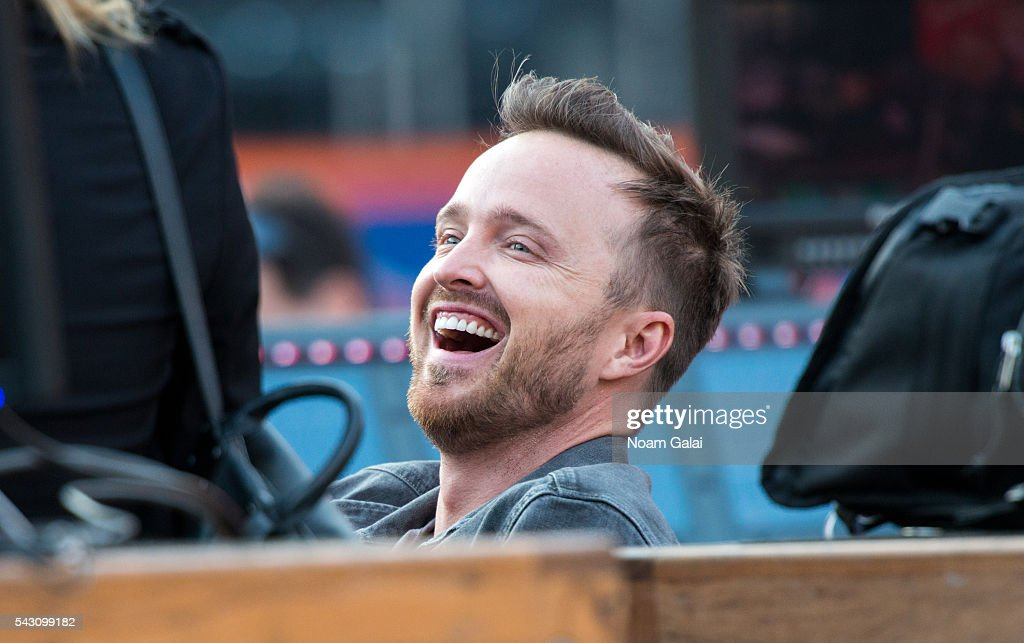 Actor Aaron Paul attends Dead & Company's concert in concert at Citi Field on June 25, 2016 in the Queens borough of New York City.
