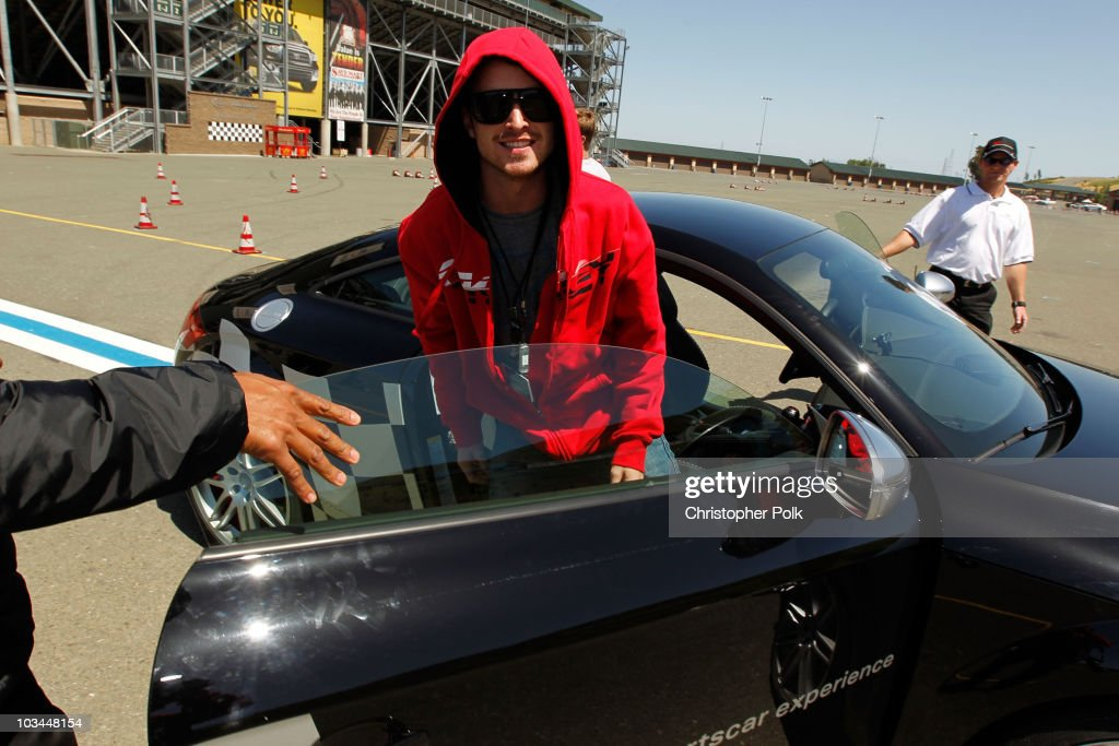 Actor Aaron Paul attends 'Learn to Ride' with the Audi Sportscar Experience 2010, presented by Oakley at Infineon Raceway on May 20, 2010 in Sonoma, California.