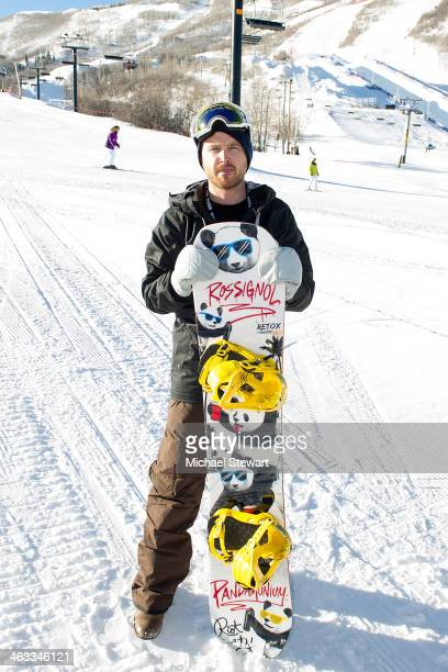Actor Aaron Paul attends Oakley Learn To Ride With AOL At Sundance Day 1 on January 17 2014 in Park City Utah
