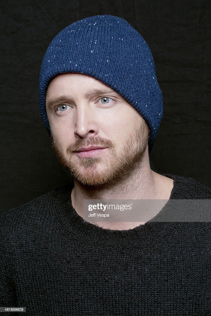 Actor Aaron Paul is photographed at the Sundance Film Festival 2014 for Self Assignment on January 25, 2014 in Park City, Utah.