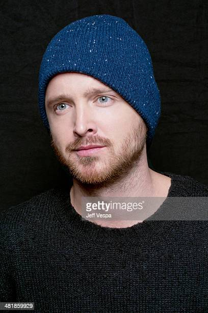 Actor Aaron Paul is photographed at the Sundance Film Festival 2014 for Self Assignment on January 25 2014 in Park City Utah