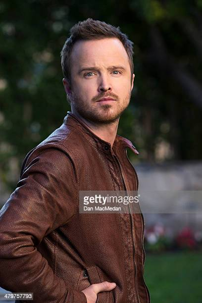 Actor Aaron Paul is photographed for USA Today on February 21 2014 in Century City California