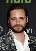 Actor Aaron Stanford arrives at PaleyLive LA An Evening With '12 Monkeys' at The Paley Center for Media on June 29 2016 in Beverly Hills California