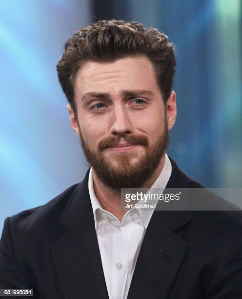 Actor Aaron Taylor Johnson attends Build to discuss the new film 'The Wall' at Build Studio on May 11 2017 in New York City