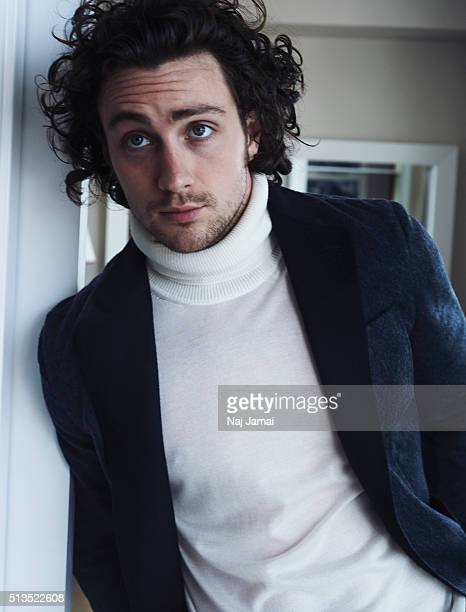 Actor Aaron Taylor Johnson is photographed for L'Officiel Hommes Italia on May 1 2015 in Los Angeles California PUBLISHED IMAGE