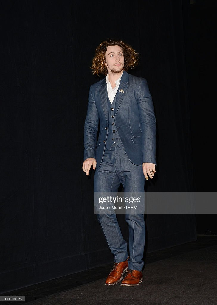 Actor Aaron Taylor-Johnson attends the 'Anna Karenina' premiere during the 2012 Toronto International Film Festival at The Elgin on September 7, 2012 in Toronto, Canada.