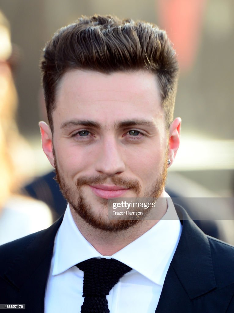 Actor Aaron Taylor-Johnson attends the premiere of Warner Bros. Pictures and Legendary Pictures' 'Godzilla' at Dolby Theatre on May 8, 2014 in Hollywood, California.