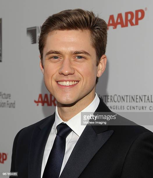 Actor Aaron Tveit arrives at the 5th Annual 'A Fine Romance' at 20th Century Fox on May 1 2010 in Los Angeles California