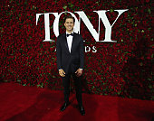 Actor Aaron Tveit attends the 70th Annual Tony Awards at The Beacon Theatre on June 12 2016 in New York City