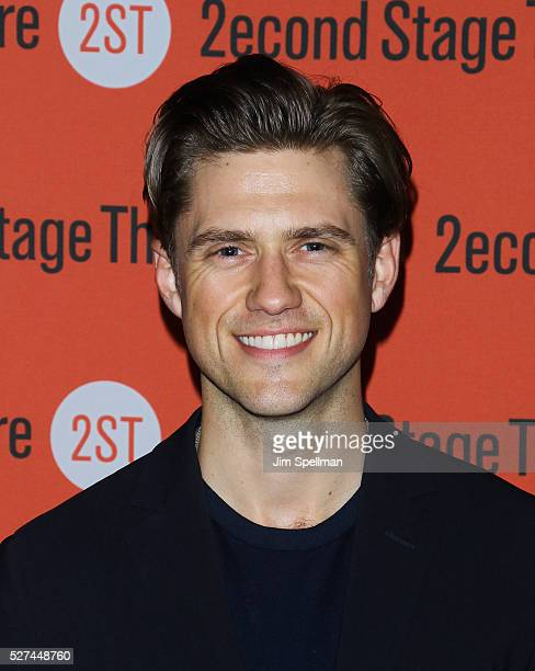 Actor Aaron Tveit attends The Second Stage 37th Anniversary Gala at Cipriani 42nd Street on May 2 2016 in New York City