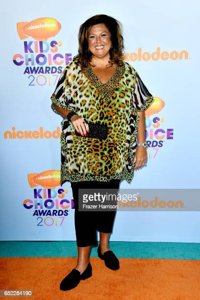 Actor Abby Lee Miller at Nickelodeon's 2017 Kids' Choice Awards at USC Galen Center on March 11 2017 in Los Angeles California