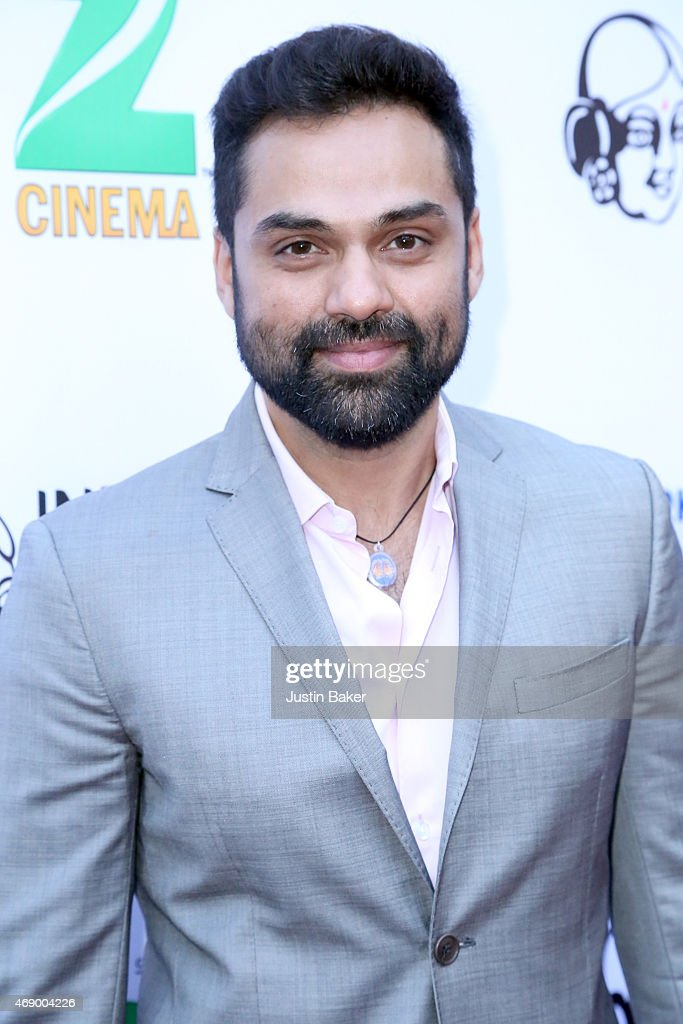 Actor <a gi-track='captionPersonalityLinkClicked' href=/galleries/search?phrase=Abhay+Deol&family=editorial&specificpeople=5377911 ng-click='$event.stopPropagation()'>Abhay Deol</a> attends the 13th Annual Indian Film Festival Of Los Angeles - Opening Night Screening Of 'Haraamkhor' at ArcLight Hollywood on April 8, 2015 in Hollywood, California.