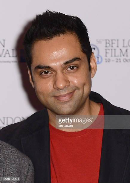 Actor Abhay Deol attends the 'Chakravyuh' photocall during the 56th BFI London Film Festival at the Empire Leicester Square on October 11 2012 in...