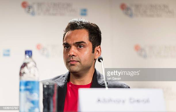 Actor Abhay Deol attends the 'Chakravyuh' press conference during the 56th BFI London Film Festival at the Empire Leicester Square on October 11 2012...