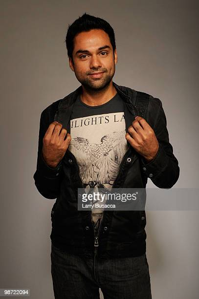 Actor Abhay Deol from the film 'Road Movie' attends the Tribeca Film Festival 2010 portrait studio at the FilmMaker Industry Press Center on April 28...