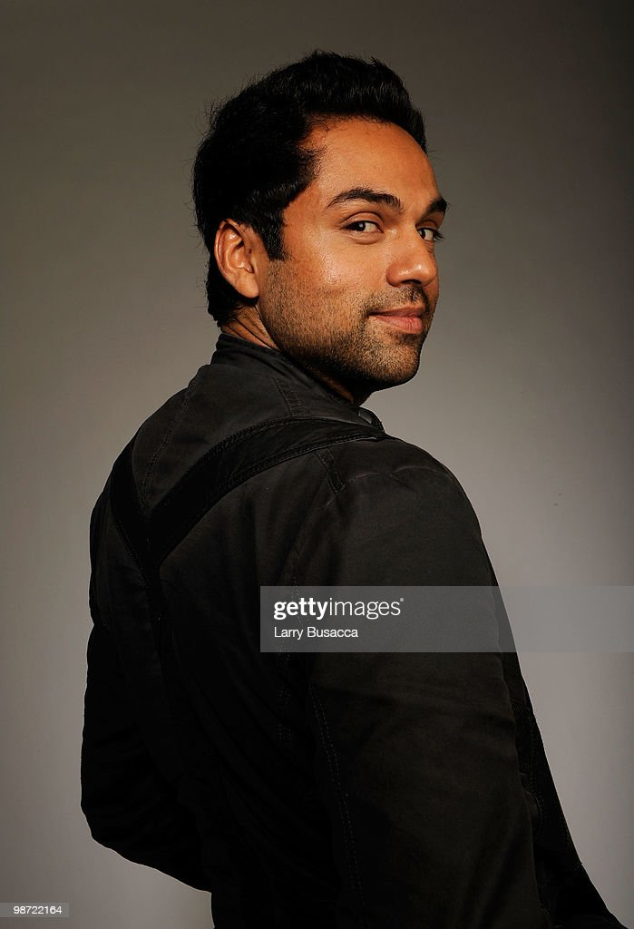 Actor <a gi-track='captionPersonalityLinkClicked' href=/galleries/search?phrase=Abhay+Deol&family=editorial&specificpeople=5377911 ng-click='$event.stopPropagation()'>Abhay Deol</a> from the film 'Road, Movie' attends the Tribeca Film Festival 2010 portrait studio at the FilmMaker Industry Press Center on April 28, 2010 in New York, New York.