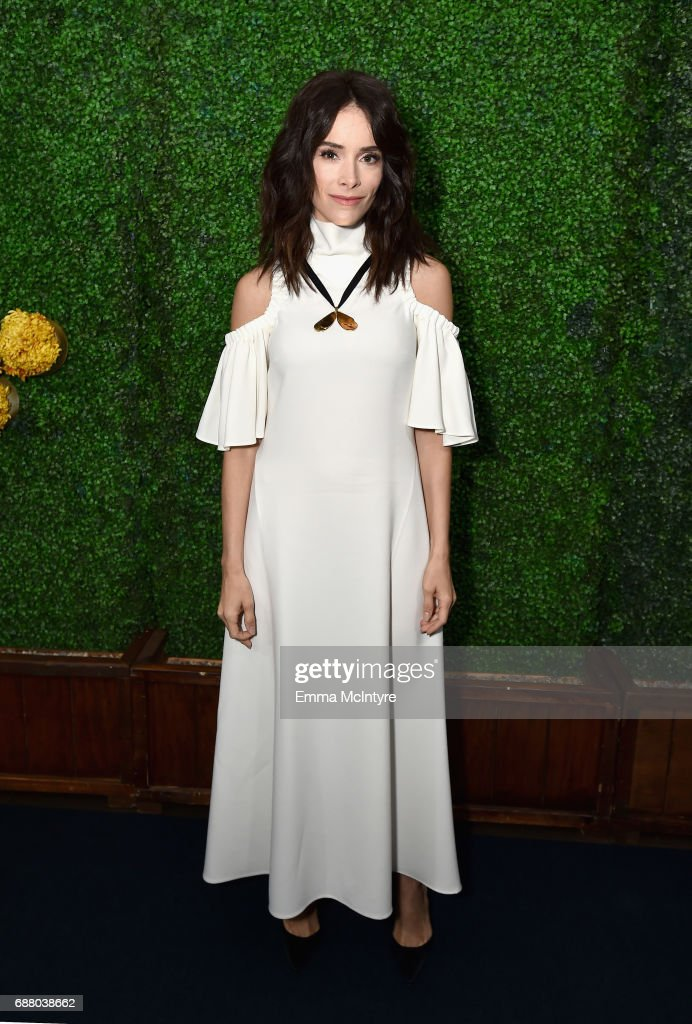 "Actor Abigail Spencer, star of the new Sony Pictures Television series ""Timeless"", attends the Sony Pictures Television LA Screenings Party at Catch LA on May 24, 2017 in Los Angeles, California."