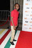 Actor Abraham Attah attends the 'Beasts Of No Nation' premiere during the 2015 Toronto International Film Festival at Ryerson Theatre on September 13...