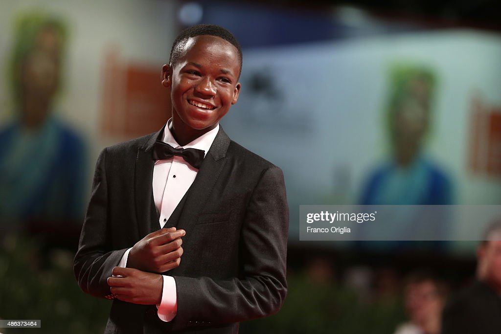 Actor Abraham Attah attends the premiere of 'Beasts Of No Nation' during the 72nd Venice Film Festival on September 3, 2015 in Venice, Italy.