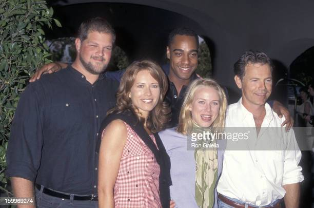 Actor Abraham Benrubi actor Jeffrey D Sams actor Bruce Greenwood actress Kathrin Nicholson and actress Naomi Watts attend the NBC Summer TCA Press...