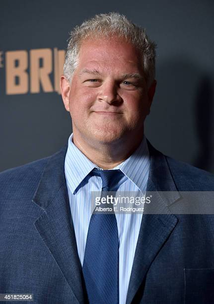 Actor Abraham Benrubi attends the premiere of FX's 'The Bridge' at Pacific Design Center on July 7 2014 in West Hollywood California