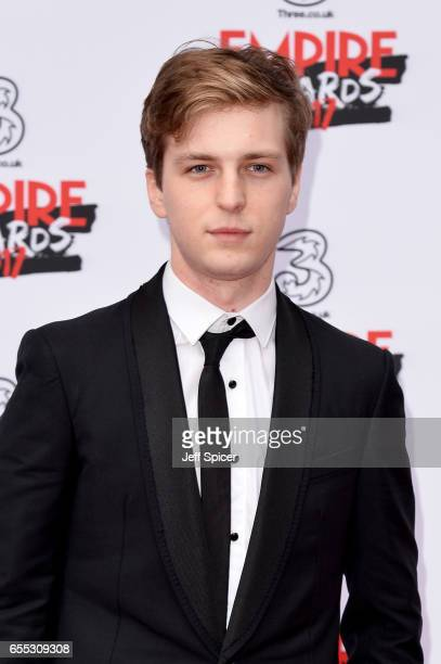 Actor Abraham Lewis attends the THREE Empire awards at The Roundhouse on March 19 2017 in London England