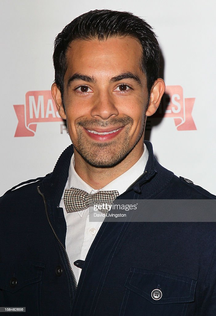 Actor Ace Marrero attends the Working Dreams and Families For Children annual holiday season event at the Marriott Courtyard on December 17, 2012 in Culver City, California.