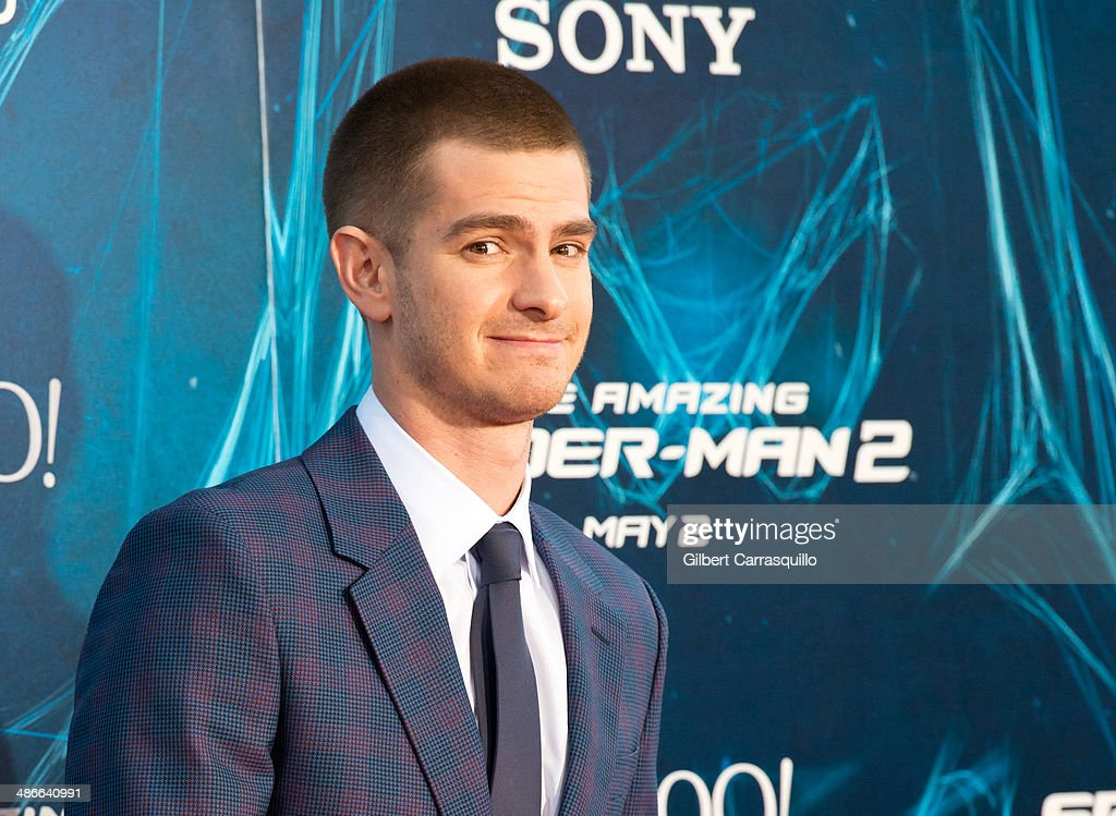 Actor Actor <a gi-track='captionPersonalityLinkClicked' href=/galleries/search?phrase=Andrew+Garfield&family=editorial&specificpeople=4047840 ng-click='$event.stopPropagation()'>Andrew Garfield</a> attends 'The Amazing Spider-Man 2' premiere at the Ziegfeld Theater on April 24, 2014 in New York City. (Photo by Gilbert Carrasquillo/FilmMagic) attends 'The Amazing Spider-Man 2' premiere at the Ziegfeld Theater on April 24, 2014 in New York City.