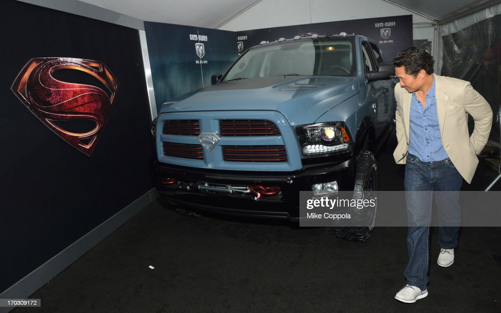Actor Actor <a gi-track='captionPersonalityLinkClicked' href=/galleries/search?phrase=Daniel+Dae+Kim&family=editorial&specificpeople=581168 ng-click='$event.stopPropagation()'>Daniel Dae Kim</a> attends the 'Man of Steel' NYC premiere sponsored by RAM at Alice Tully Hall at Lincoln Center on June 10, 2013 in New York City.