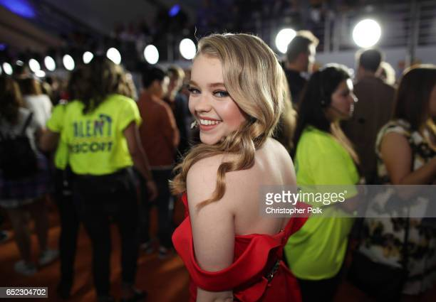 Actor Actor Jade Pettyjohn at Nickelodeon's 2017 Kids' Choice Awards at USC Galen Center on March 11 2017 in Los Angeles California