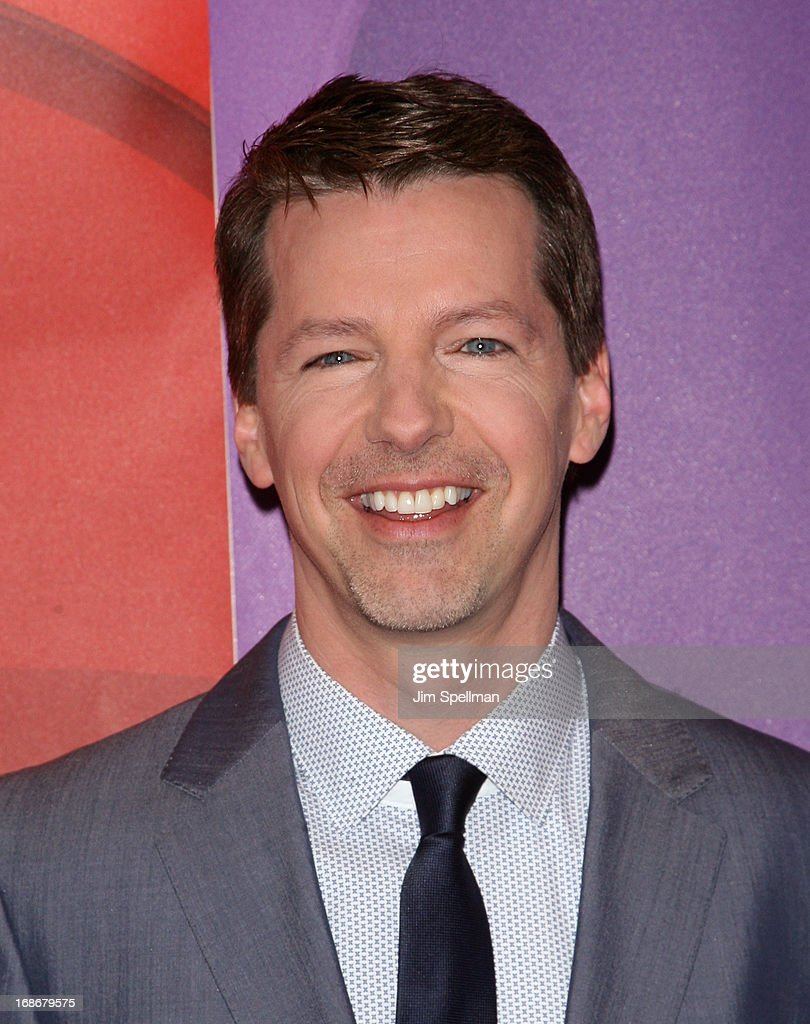 Actor Actor <a gi-track='captionPersonalityLinkClicked' href=/galleries/search?phrase=Sean+Hayes&family=editorial&specificpeople=204240 ng-click='$event.stopPropagation()'>Sean Hayes</a> attends 2013 NBC Upfront Presentation Red Carpet Event at Radio City Music Hall on May 13, 2013 in New York City.