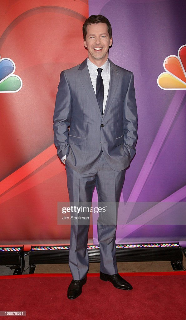 Actor Actor Sean Hayes attends 2013 NBC Upfront Presentation Red Carpet Event at Radio City Music Hall on May 13, 2013 in New York City.