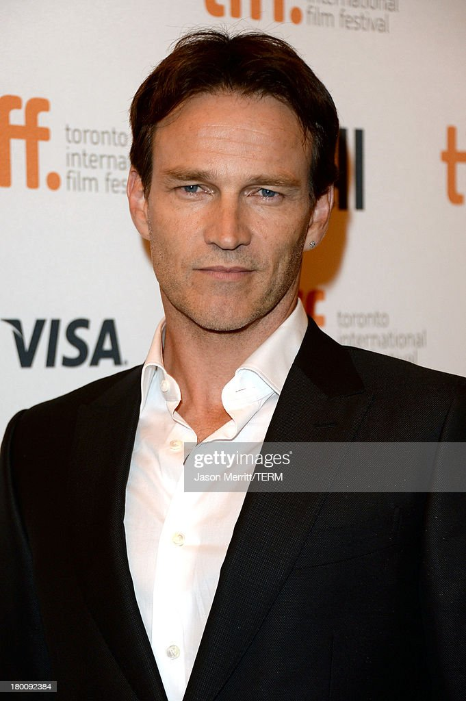 Actor Actor <a gi-track='captionPersonalityLinkClicked' href=/galleries/search?phrase=Stephen+Moyer&family=editorial&specificpeople=4323688 ng-click='$event.stopPropagation()'>Stephen Moyer</a> attends 'The Devil's Knot' premiere during the 2013 Toronto International Film Festival at The Elgin on September 8, 2013 in Toronto, Canada.