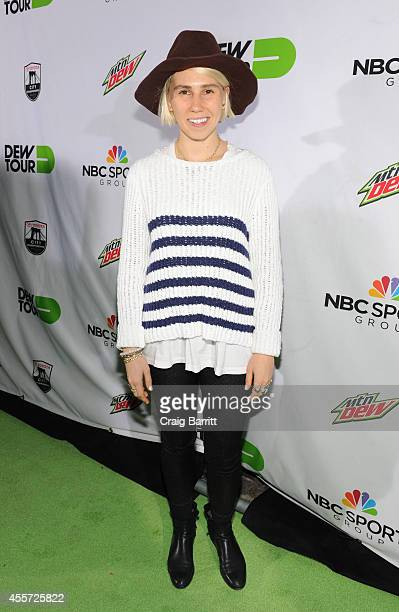 Actor Actress Zosia Mamet walks the green carpet at the Dew Tour Brooklyn Mountain Dew Kickoff Party on Thursday Sept 18th at the House of Vans in...
